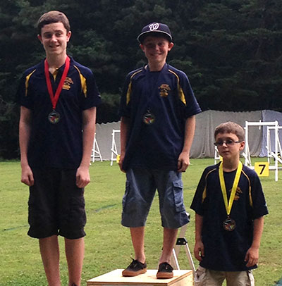 Jessee Takes First at Archery Competition