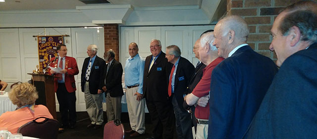 Chester Lions Club Installs New Officers