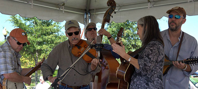 Old Time Bluegrass at Third Thursdays July 16