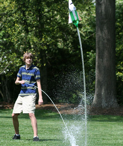 4-H Youth Water Rocket Competition