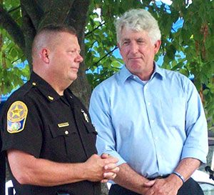 Bensley National Night Out Welcomes Attorney General Mark Herring