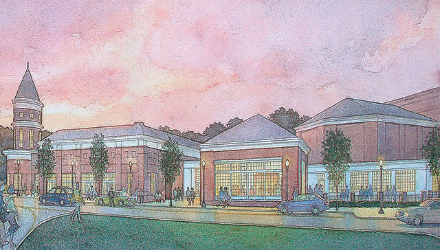 Center for the Arts Construction to Begin Soon