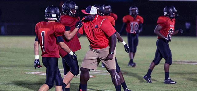 Through sports, Johnson survives the streets to lead Matoaca Warriors