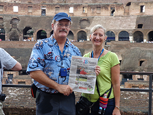 Village News Tours Rome and  the Greek Isles