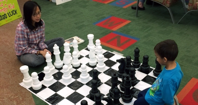 Grandmaster May Be in the Making at Meadowdale Library