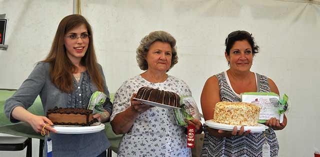 Come for Dessert Contest Winners