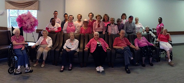 The Crossings Support for Breast Cancer Awareness