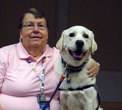 Matoaca Canine Companion Dog Retires