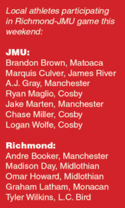 richmond-v-jmu-players