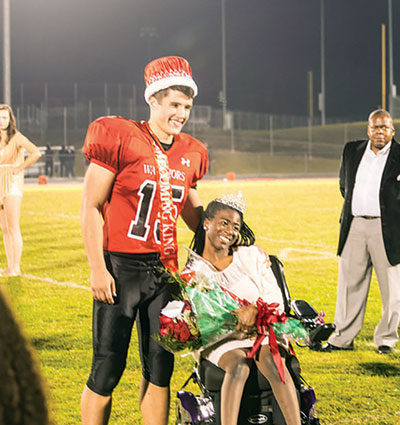 Matoaca crowns homecoming king and queen