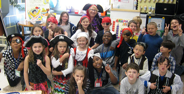 Pirates Pillage and Plunder the Halls of Curtis