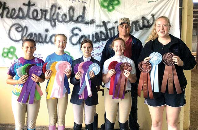 Equestrians Earn 4-H Prizes