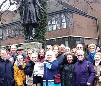 Chesterfield Twinning group travels to England