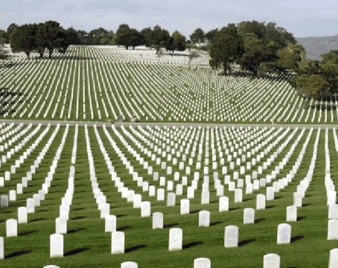 History of Arlington National Cemetery  presented to Lion Club members