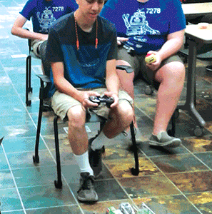 Chesterfield robotics team gears up for battlefield