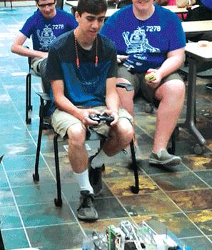 Chesterfield robotics team gears up for battlefield