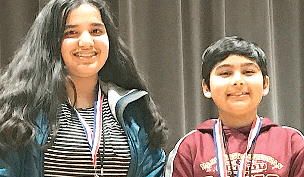 Fourth-grader Johri wins county-wide spelling bee