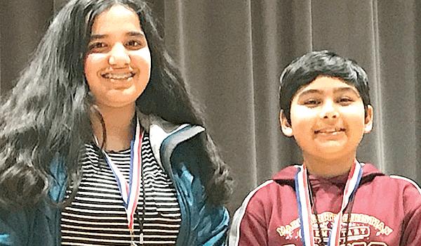 Fourth-grader Johri wins county-wide spelling bee