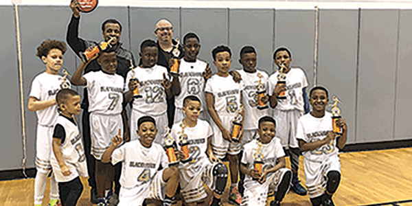 Falling Creek 11-U basketball team wins championship