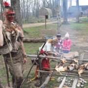 Revisiting history: Commemoration of Chief Powhatan's death attracts visitors from Canada