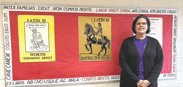 Matoaca Middle School teacher brings Latin alive