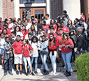 MEGA students visit Hampton's museums