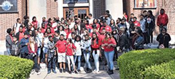 MEGA students visit Hampton's museums