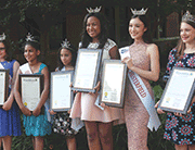Miss Chesterfield Scholarship award winners