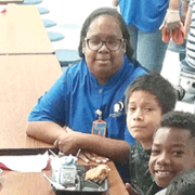 Hopkins Elementary cafeteria manager honored