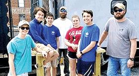 Boy Scouts build mini-bridge for Richmond Railroad Museum