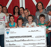 Food bank receives $47K donation from women's club