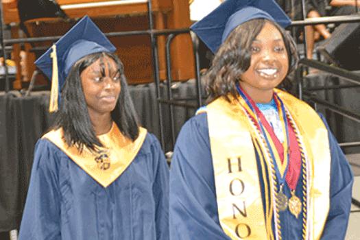 Meadowbrook High School graduates 350
