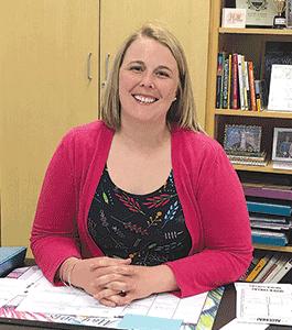 Finance major returns, enjoys teaching middle-school math