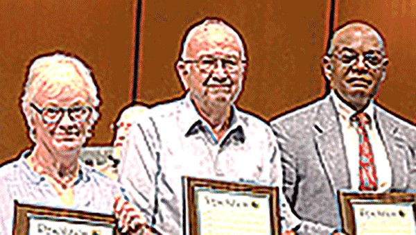 Three inducted into senior volunteer hall of fame