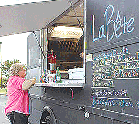 Fun meets flavor by way of food trucks