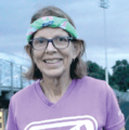 Running for a reason: Husband's battle with disease gives woman the drive to help