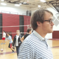 Thomas Dale boys volleyball team shares the volunteer spirit