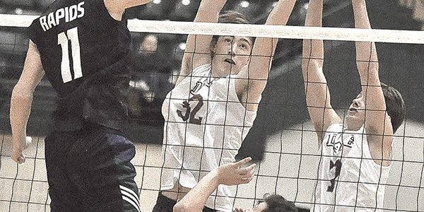 Knight volleyballers fall in state final