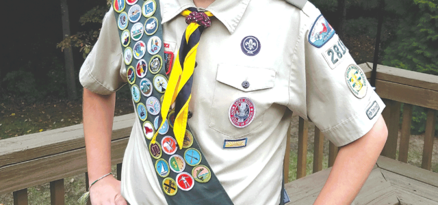 Brooks earns Eagle Scout rank