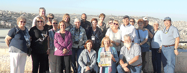Village News goes to Israel!