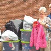 Kiwanis Club donates coats to children