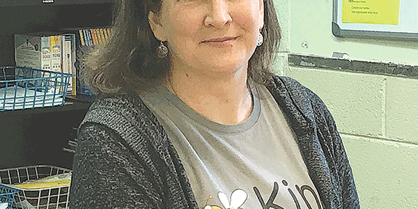Swartz incorporates gardening and yoga into her classes
