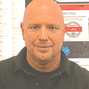 Former Marine enjoys challenging his Tech Center students