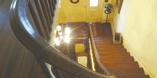 The historic Yellow House holds tales from years gone by