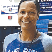 Waller enjoys teaching math and basketball at L.C. Bird