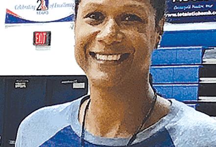 Waller enjoys teaching math and basketball at L.C. Bird