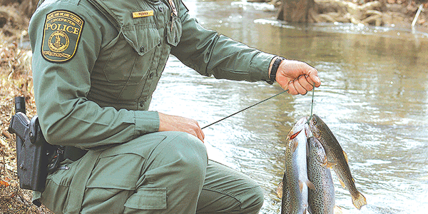 Meet the conservation police: State officers often work outdoors to enforce laws related to hunting, fishing and boating