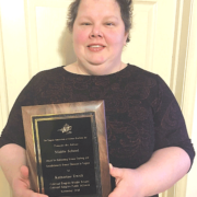 Ewalt earns statewide award
