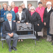 'Crowder bench' dedicated at Ecoff Elementary School