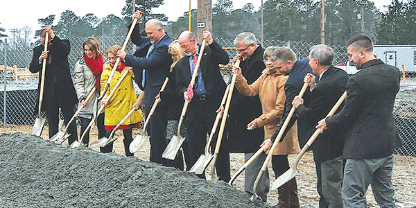Matoaca Middle School East addition involves two projects